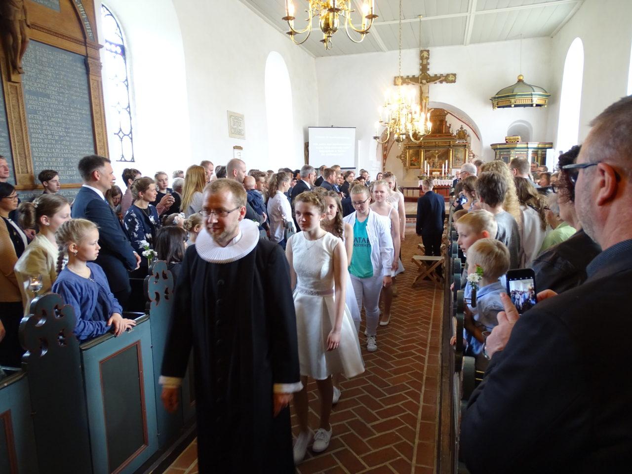 Konfirmationen 2017 – Lørdag d. 13. maj